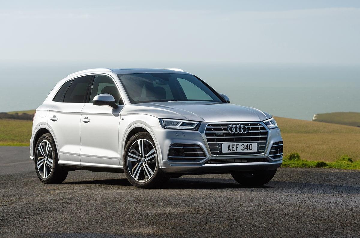 Audi Q5 front 34