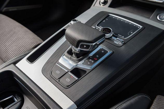 Audi Q5 touchpad