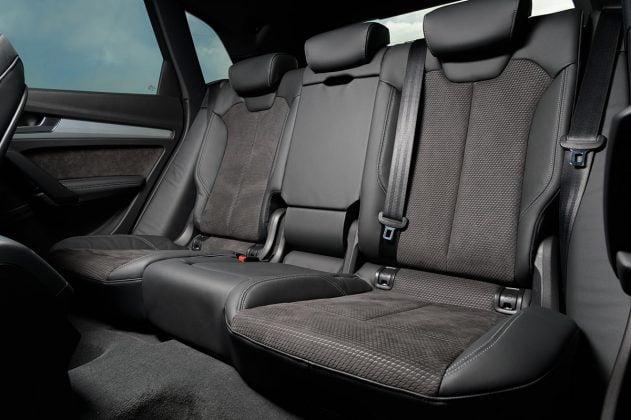 Audi Q5 rear seats