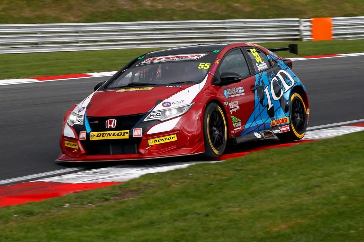 BTCC BH Jeff Smith Honda