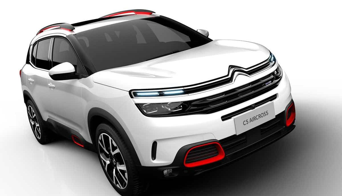 Citroën C5 Aircross to debut in Shanghai