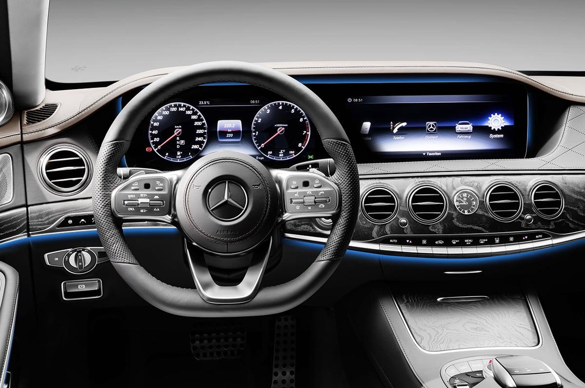 Mercedes-Benz S-Class cockpit