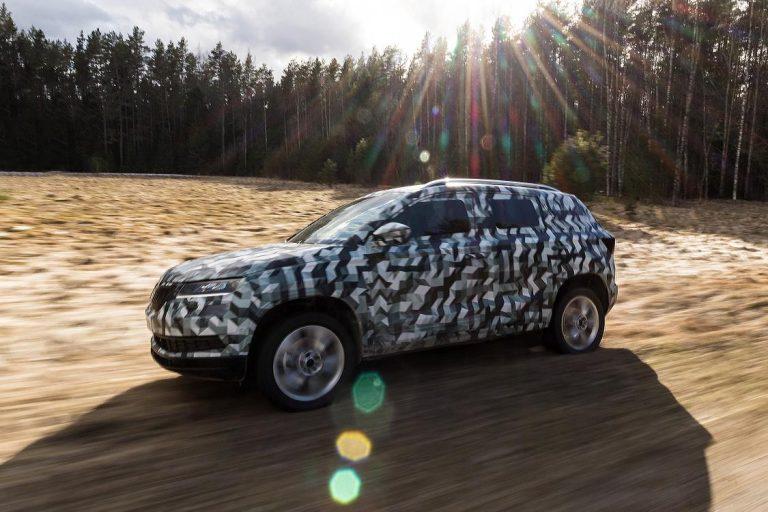 Skoda Karoq SUV on sale in 2017