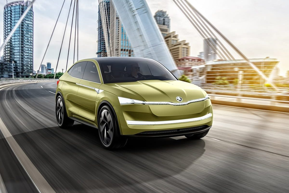 Skoda Vision E is brand's first electric concept