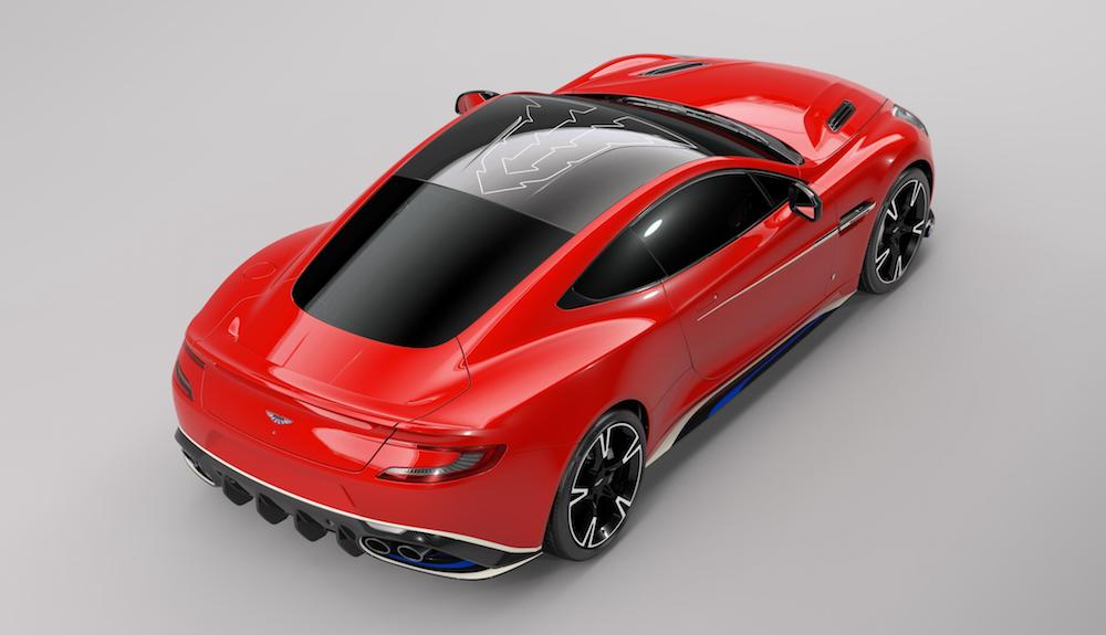 Aston Martin Vanquish S Red Arrows edition - rear
