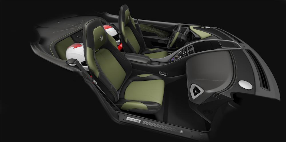 Aston Martin Vanquish S Red Arrows edition - interior