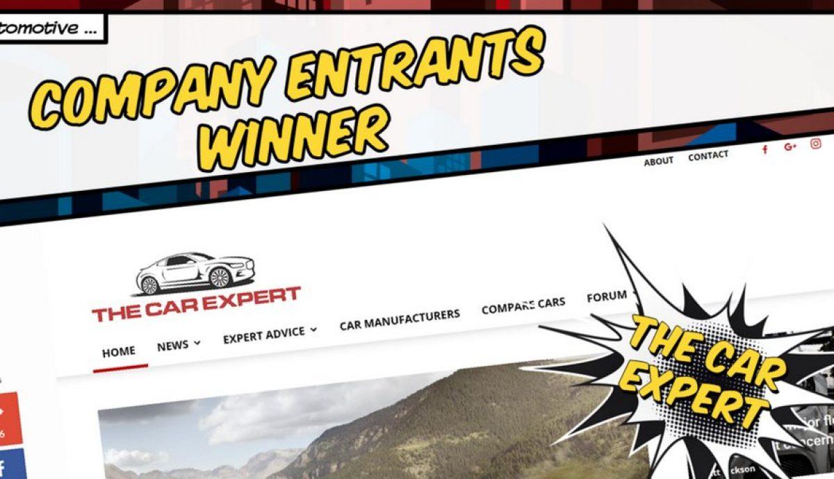 UK Blog Awards 2017 - The Car Expert wins!