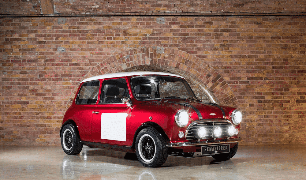 David Brown Automotive Mini Remastered Red (The Car Expert)