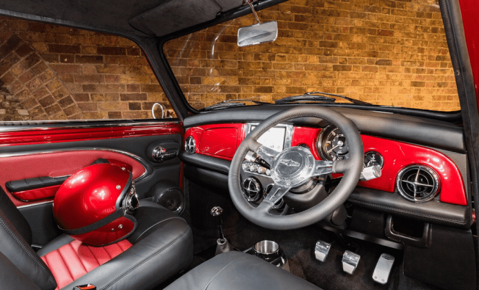 David Brown Automotive unveils Mini Remastered 4