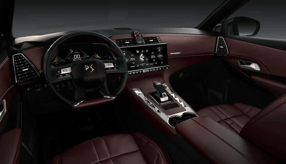 Interior of DS 7 Crossback La Premiere special edition (The Car Expert)