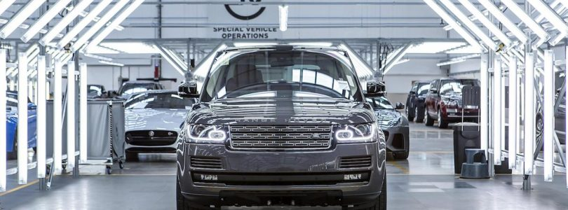 Land Rover SVO manufacturing facility