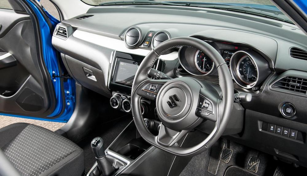 Interior of third-generation Swift (The Car Expert)
