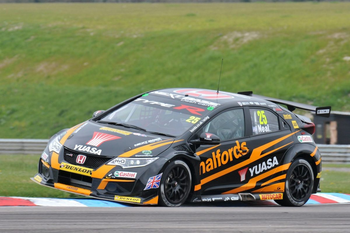 Honda civic Matt Neal Thruxton