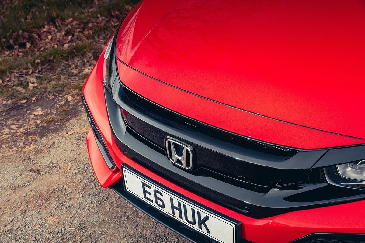 Honda Civic 1.0-litre VTEC Turbo EX - bonnet