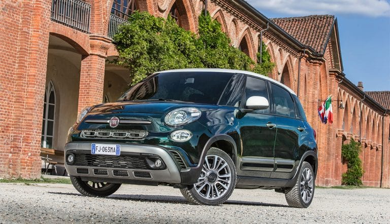 Fiat 500L range receives update