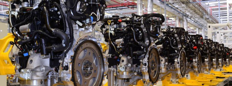 Jaguar Land Rover Ingenium petrol engine production