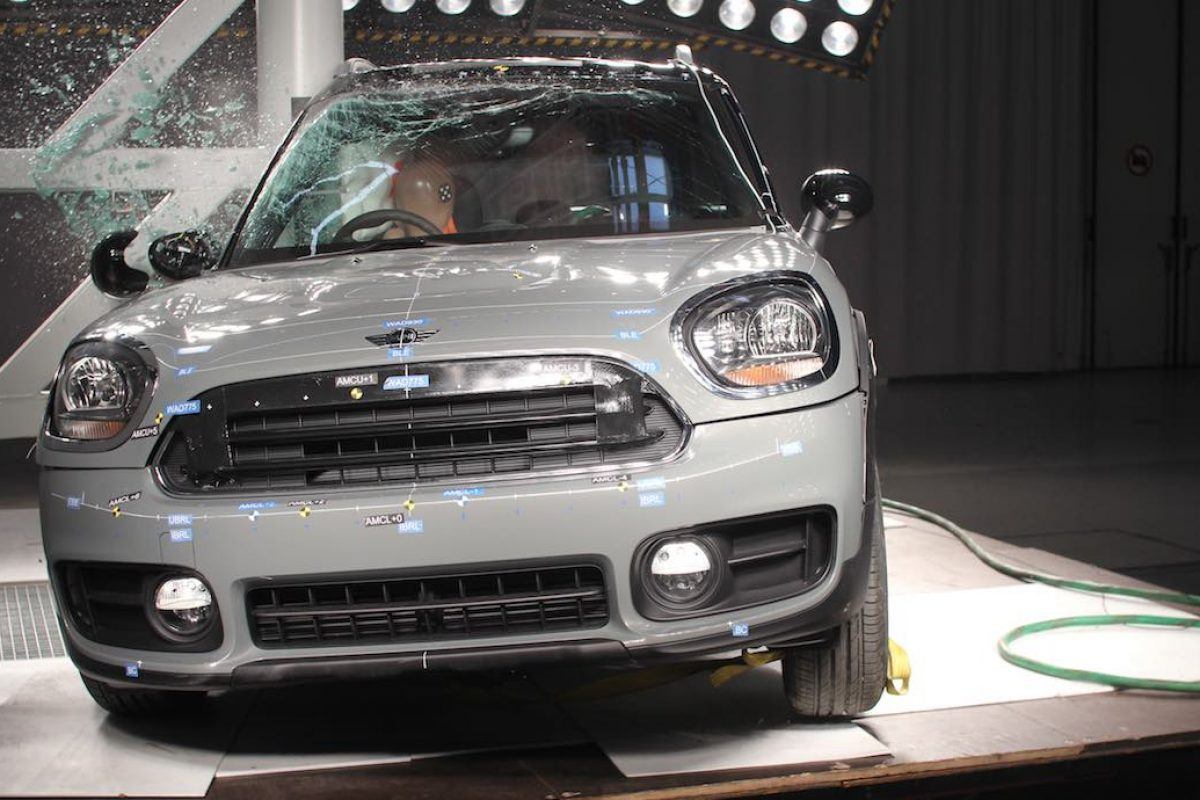MINI Countryman scores a five-star Euro NCAP rating