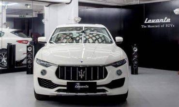 Petrol Maserati Levante set for the UK (The Car Expert)
