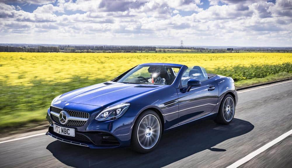 Mercedes-Benz adds petrol model to SLC range (The Car Expert)