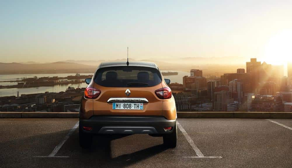 Rear view of Renault's new Captur (The Car Expert)
