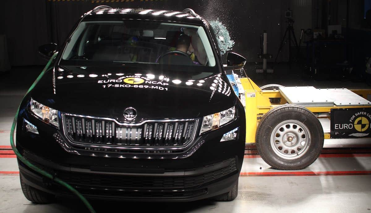 Skoda Kodiaq scores a five-star Euro NCAP rating