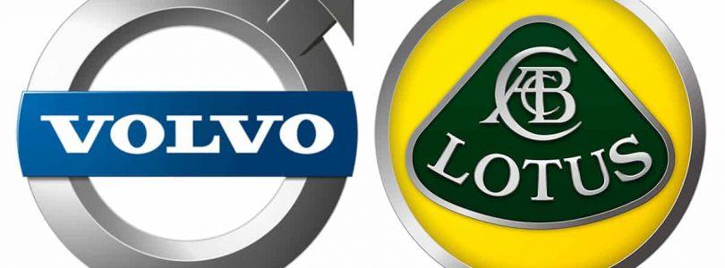 Volvo Lotus logos