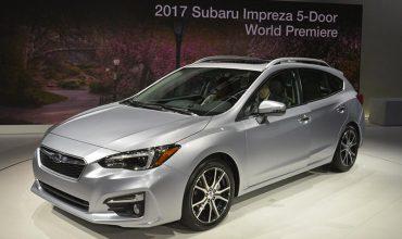 Subaru Impreza, New York Auto Show 2016