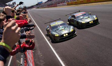 Aston Martin takes last-lap Le Mans win