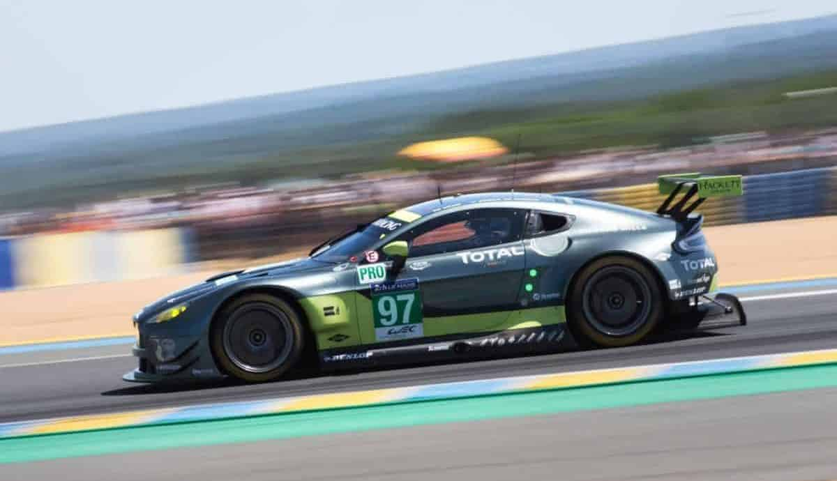 Aston Martin Vantage GTE Pro wins at Le Mans 2017
