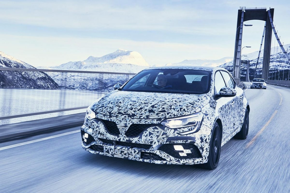 Four-wheel steer for Mégane Renault Sport