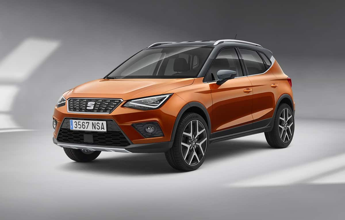 The Seat Arona is another new small SUV