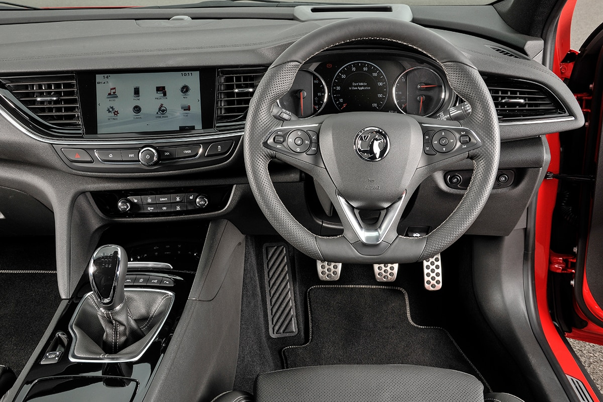 Vauxhall Insignia Sport Tourer - dashboard