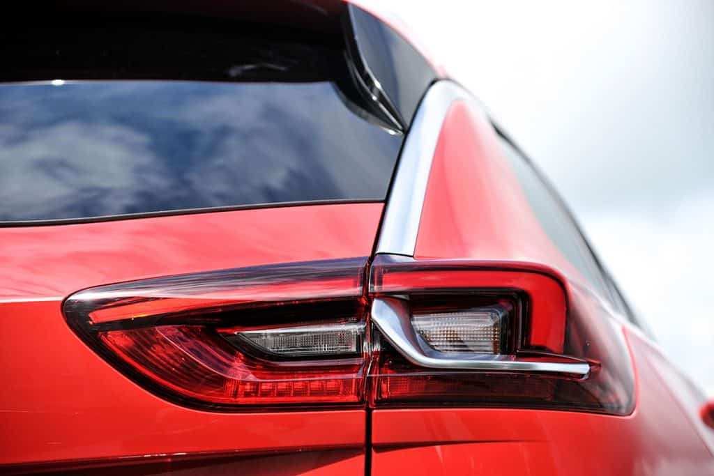 Vauxhall Insignia Sports Tourer tail light detail