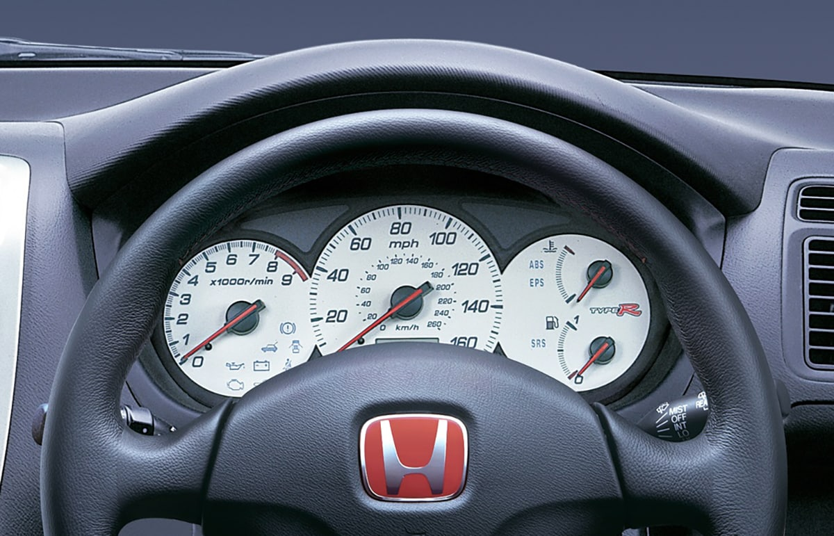 Honda Civic Type-R 2001 dash