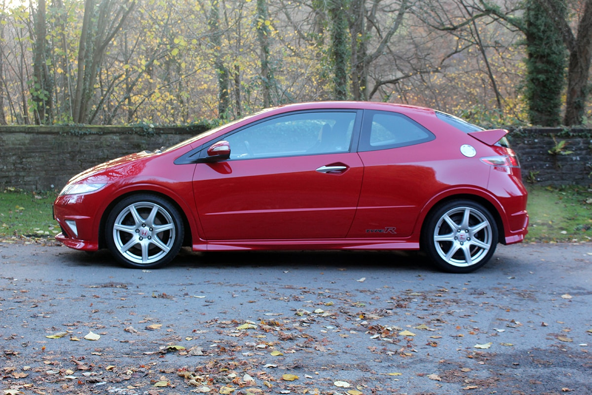 Honda Civic Type-R 2 side
