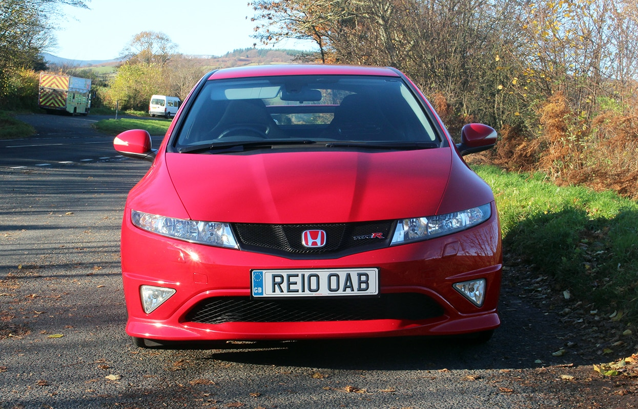 Honda Civic Type-R 2 front