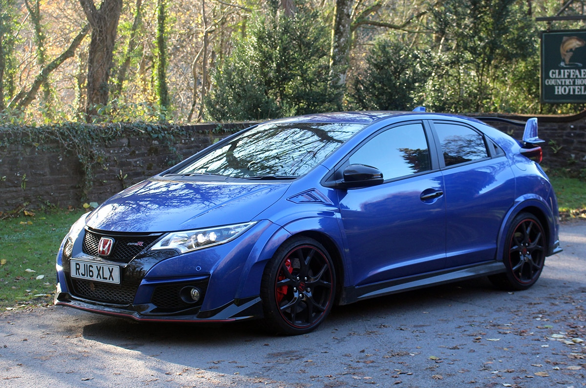 Honda Civic Type R 3 front 34