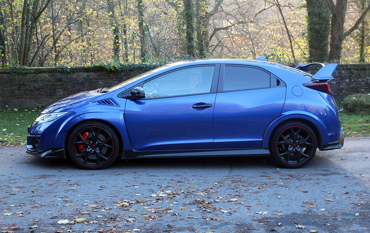 Honda Civic Type R 3 side