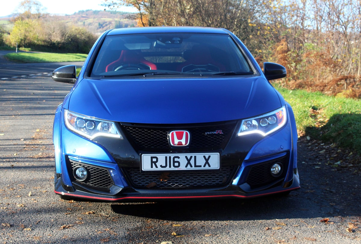 Honda Civic Type R 3 front
