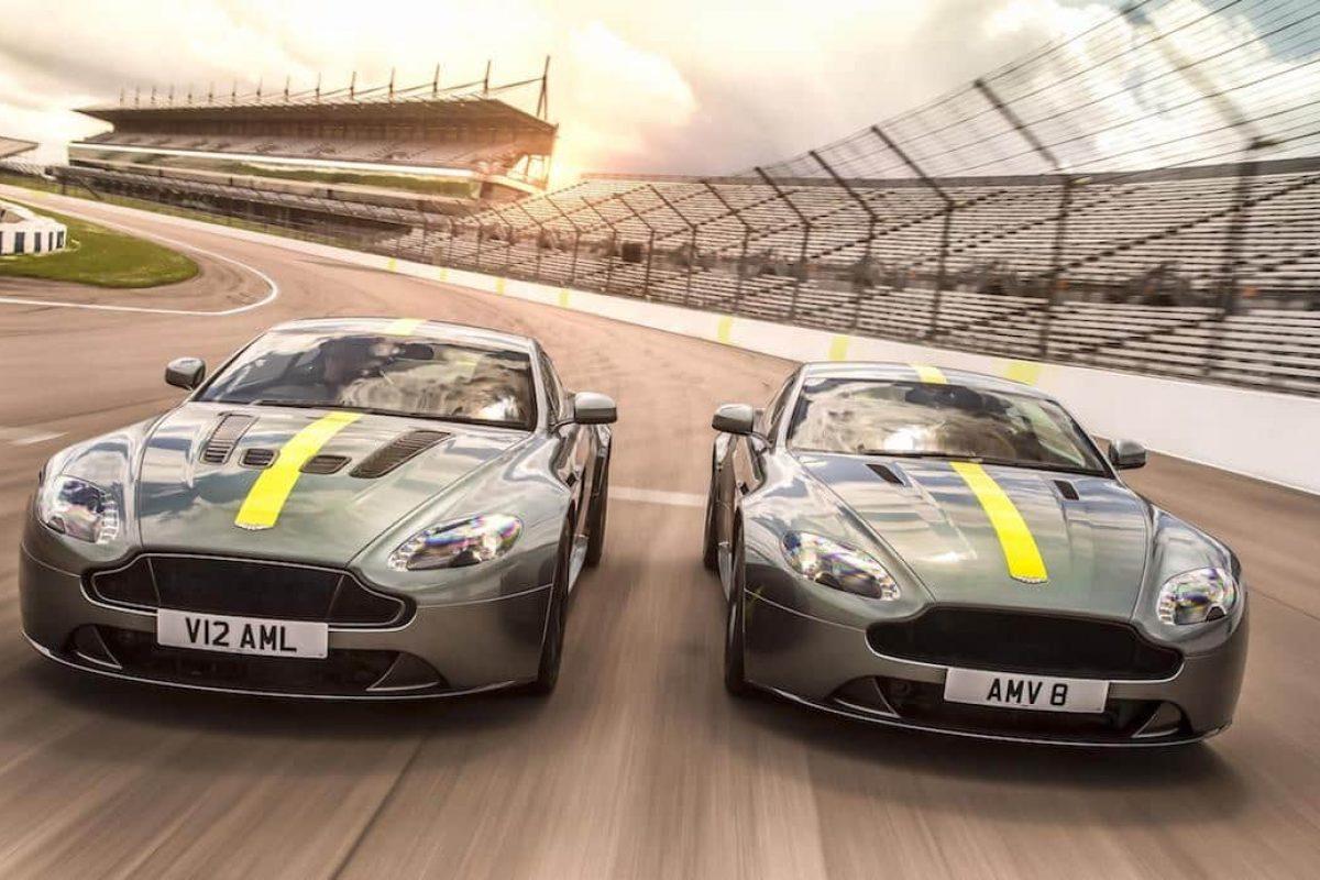 Aston Martin Vantage AMR V8 and V12