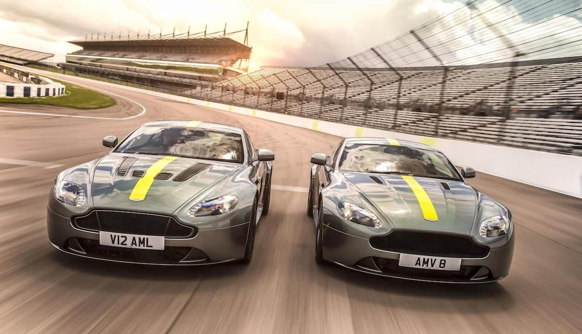 Aston Martin rolls out Vantage-based AMR special editions