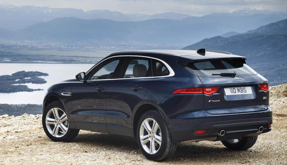 The Jaguar F-Pace benefits from expanded Ingenium engine range