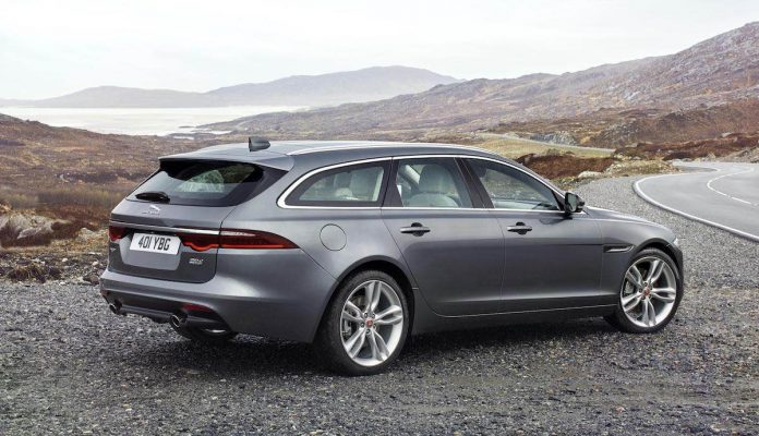 Jaguar XF Sportbrake unveiled (The Car Expert)