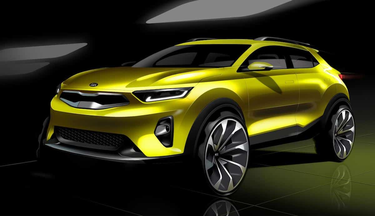 Kia releases teaser images of its new Stonic compact crossover