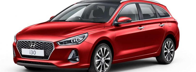 Fiery Red Hyundai i30 Tourer