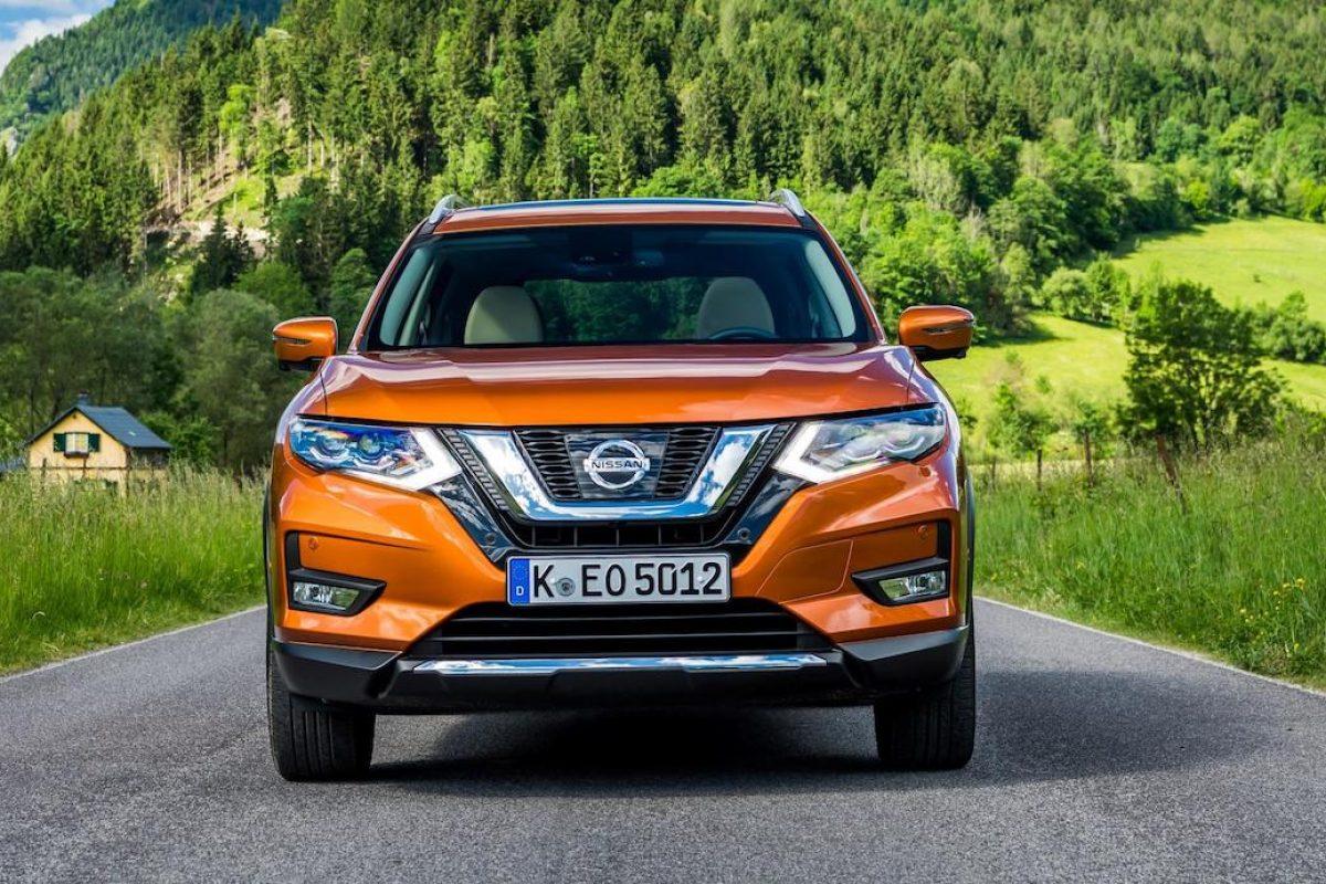 Updated Nissan X Trail In Monarch Orange