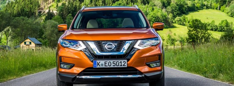 Updated Nissan X-Trail in Monarch Orange
