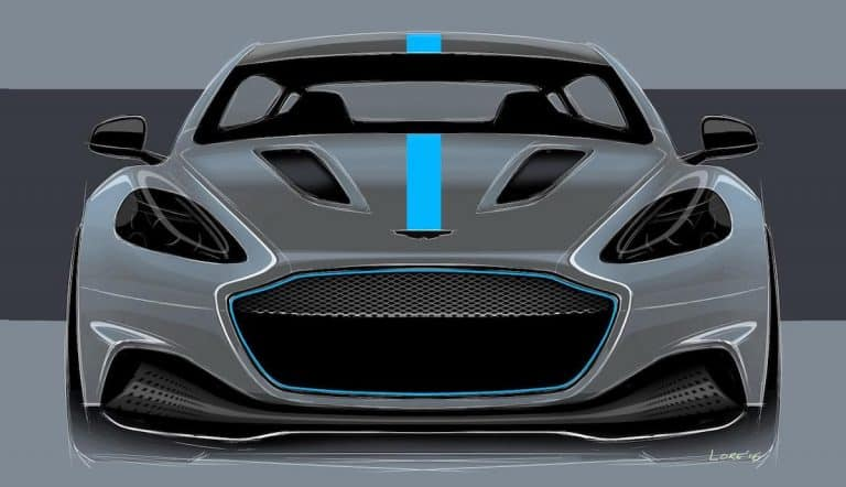 Aston Martin goes electric with RapidE