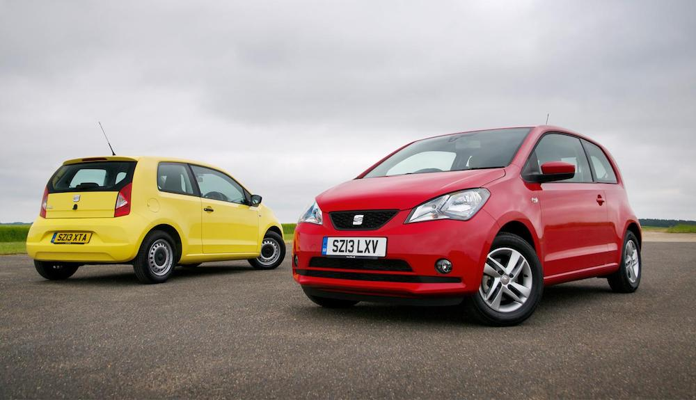 SEAT Mii - second place, Safe used car first car 2017