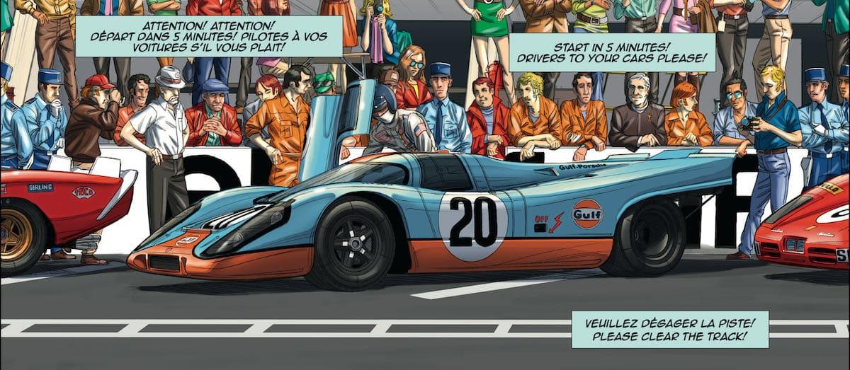 Porsche 917 - Steve McQueen in Le Mans